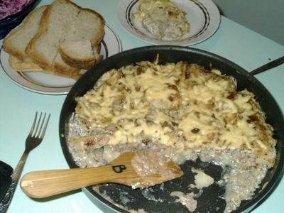 рецепт мясо с баклажанами и кабачками в духовке рецепт