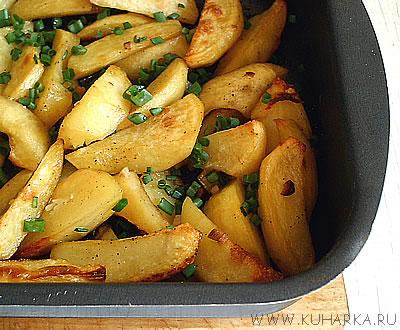 Печеная картошка в микроволновке рецепт
