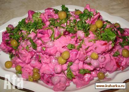 Фото рецепт салат из свеклы