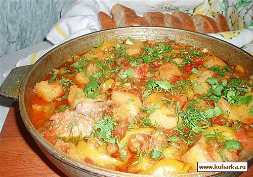 Картофель сладкий перец что приготовить