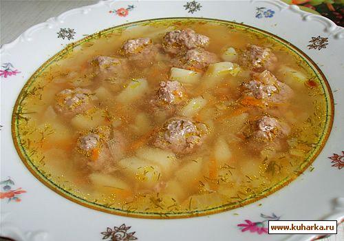 Рецепт суп картошка тушенка