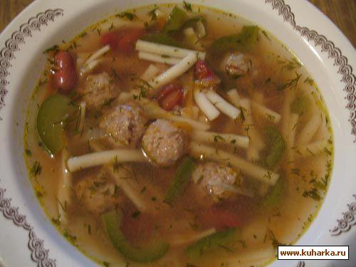Как сделать чтобы фрикадельки не разваливались в супе