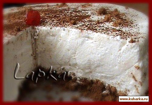 Торт из мастики с красной икрой фото