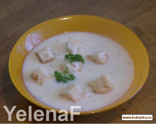 Сырный суп-пюре рецепт пошагово