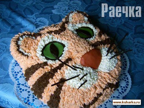 Торты в виде животных фото