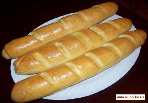 французские батоны рецепты фото