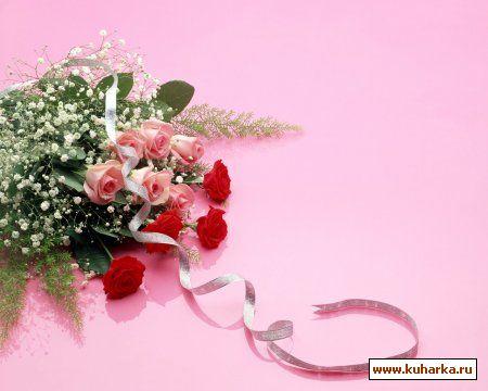 Картинки с цветами для поздравления с днем рождения