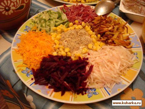 рецепт французский салат фото