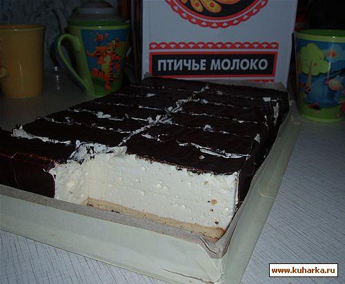 Торт советское птичье молоко рецепт