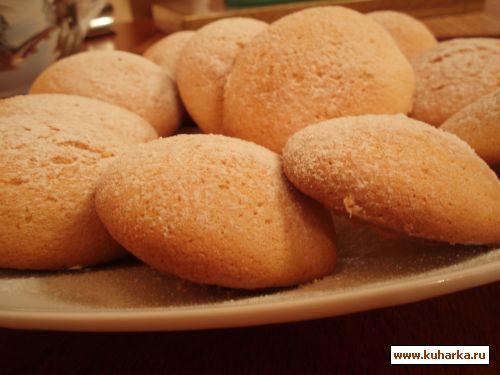 Рецепт бисквитного печенья в духовке