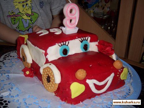 Детский торт для мальчика в домашних условиях
