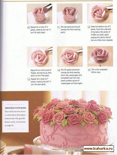 Как с крема сделать тюльпан из 35