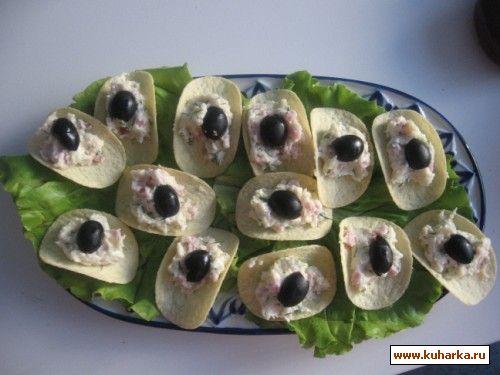 Салат к чипсами