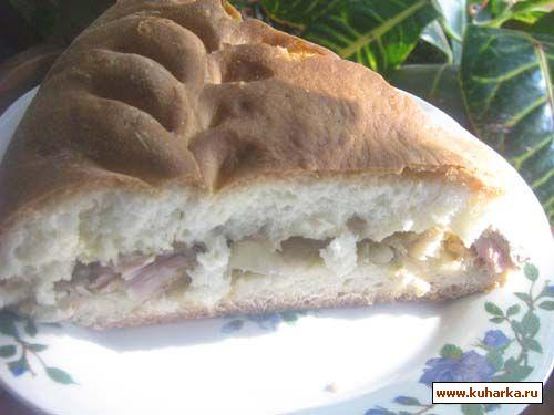Пирог с сазана рецепт
