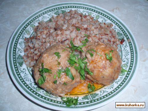 ежики с гречкой рецепт с фото