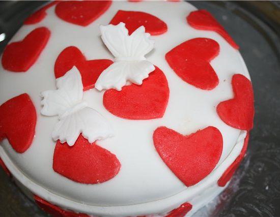Торты и другая выпечка на День влюбленных