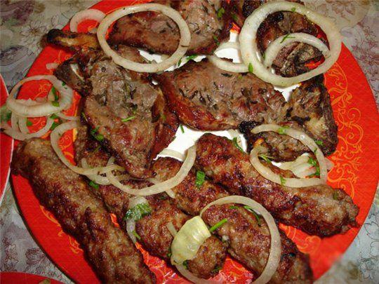 Азербайджанская рецепты
