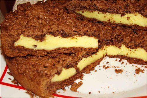 Шоколадный пирог в мультиварке рецепты с фото
