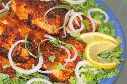 белый амур рыба приготовление на углях