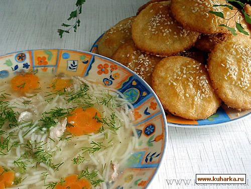 Рецепт Куриный суп с вермишелью