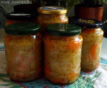 Рецепт Закуска из зеленых помидор