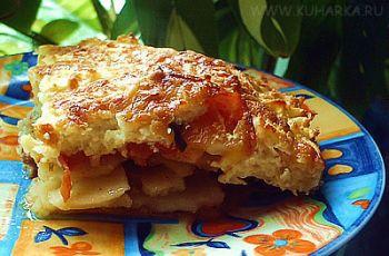 Рецепт Мусака с мясом и картошкой
