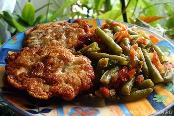Рецепт Нежные куриные котлетки