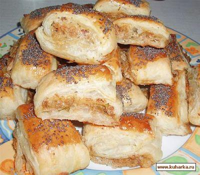 Рецепт Рулетики с тунцом и петрушкой