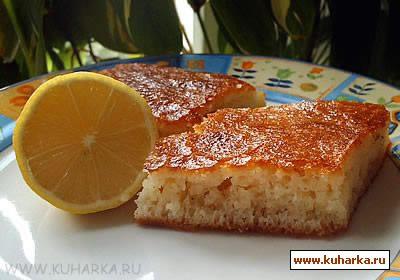 Рецепт Ревани