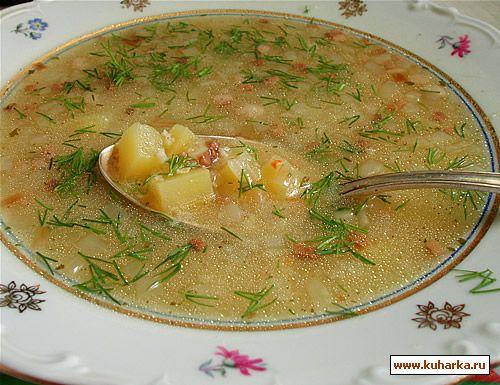 """Рецепт Суп """"Полевой"""""""