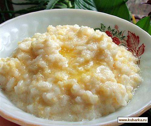 Рецепт Пшенно-рисовая каша
