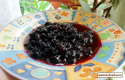 Рецепт Варенье из черной смородины