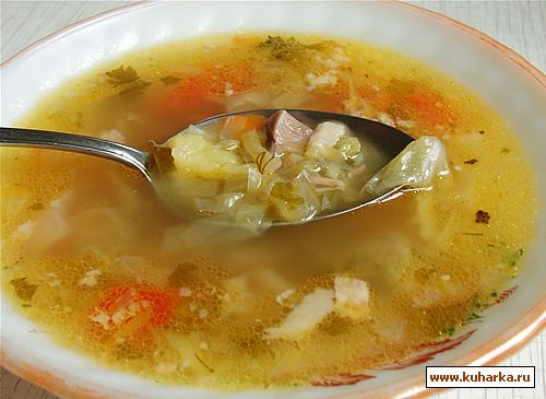 Рецепт Бабушкин суп
