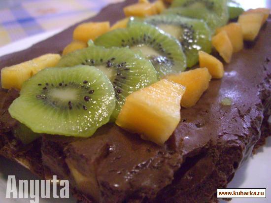 Рецепт Террина из шоколада с фруктами (Terrina de chocolate e frutas)