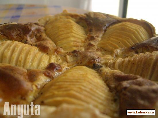 Рецепт Грушёвый пирог (Tarta de peras)