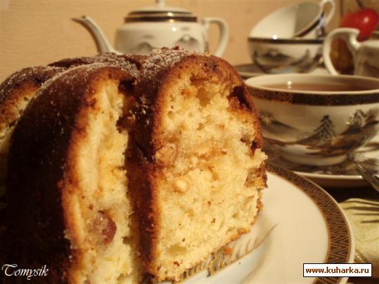 Рецепт Кекс с белым шоколадом и амаретто