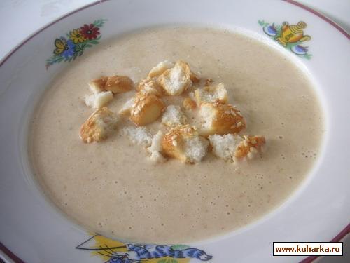 Рецепт Луковый суп-пюре