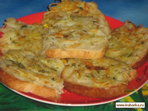Рецепт Картофельные гренки