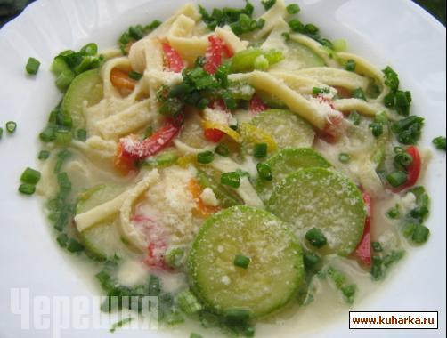 Рецепт Овощной суп по-итальянски.