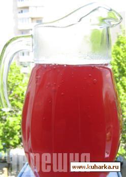 Рецепт Клубнично-малиновый кисель.