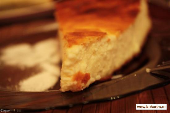 Рецепт Классический творожный пирог