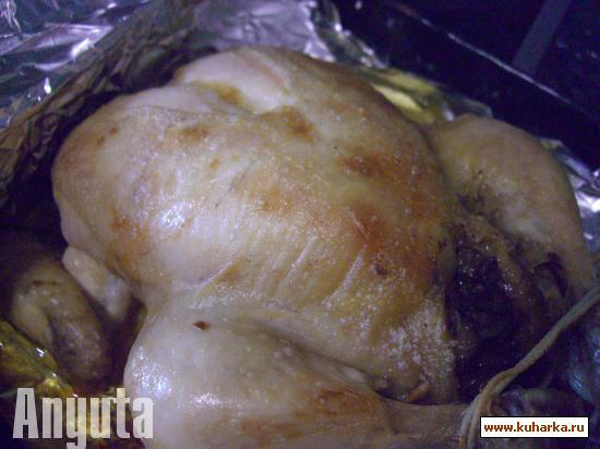 Рецепт Ванильная курочка (Pollo a la vainilla)