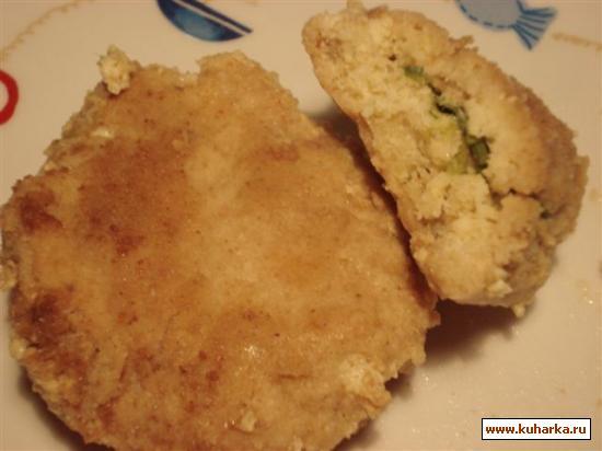 Рецепт Зразы рыбные рубленые