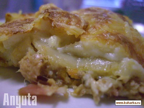 Рецепт Канелони с тунцом и бейконом