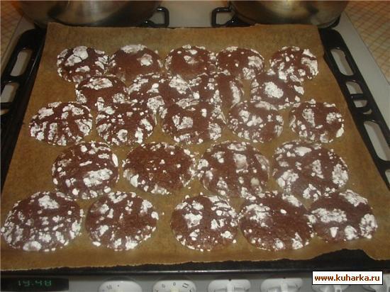 Рецепт Печенье Шоколадный трюфель