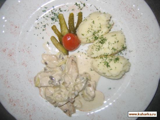Куриная грудка с соусом рецепт с пошагово