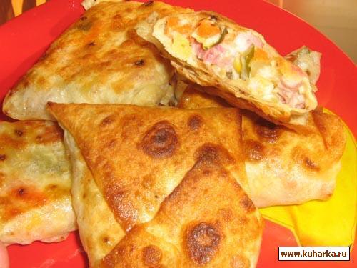 Рецепт Пирожки из лаваша