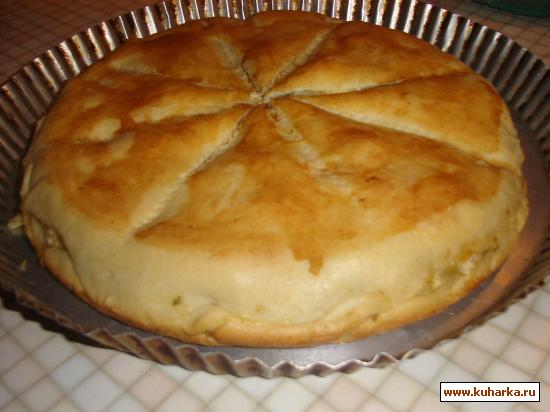 Рецепт Рыбный пирог от Зайки