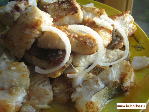 Рецепт Рыба, жаренная в майонезе