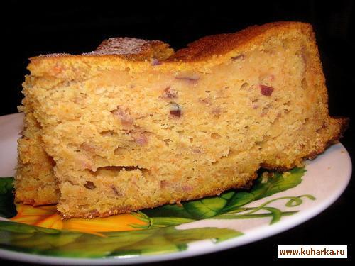 Рецепт Тыквенно-клюквенный кекс